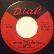 Joe Tex - I Want To (Do Everything For You) / Funny Bone