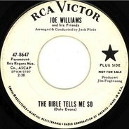 Joe Williams - The Bible Tells Me So / Ask Anybody