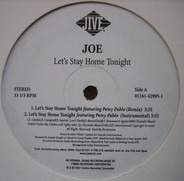 Joe - Let's Stay Home Tonight