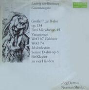 Jörg Demus , Norman Shetler - Ludwig van Beethoven - Werke Für Klavier Zu Vier Händen