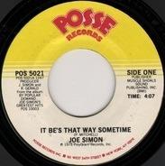 Joe Simon - It Be's That Way Sometimes / Get Down, Get Down '82'