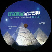 Joey Anderson - Act Of Speech Ep