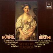 Hummel / Bertini - Quintett Für Klavier, Violine, Viola, Violoncello Und Kontrabaß - Grand Sextuor Für Klavier, 2 Viol