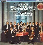 Johann Sebastian Bach - Concentus Musicus Wien , Nikolaus Harnoncourt - J.S. Bach Brandenburgische Konzerte Nr. 3•5•6