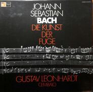 Johann Sebastian Bach , Cembalo: Gustav Leonhardt - Die Kunst der Fuge