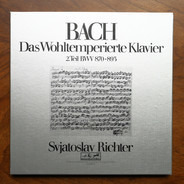 Johann Sebastian Bach / Sviatoslav Richter - Das Wohltemperierte Klavier 2. Teil Bwv 870 - 893