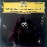 Johannes Brahms - Herbert von Karajan , Berliner Philharmoniker - Symphonie Nr. 4