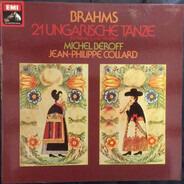 Johannes Brahms - Michel Béroff , Jean-Philippe Collard - 21 Ungarische Tänze Für Klavier Zu Vier Händen