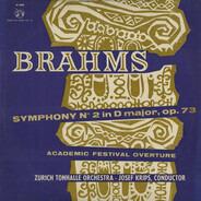 Brahms - Symphony N° 2 In D Major, Op. 73 / Academic Festival Overture, Op. 80