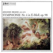 Johannes Brahms / NDR Sinfonieorchester , Hans Schmidt-Isserstedt - Symphonie Nr. 4 In E-Moll, Op. 98