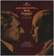 John Browning , Maurice Ravel , Sergei Prokofiev , Philharmonia Orchestra , Erich Leinsdorf - Ravel: Concerto For The Left Hand / Prokofiev: Concerto No. 3