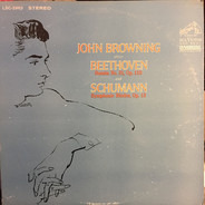 John Browning - John Browning Plays Beethoven And Schumann