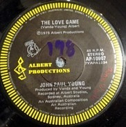 John Paul Young - The Love Game