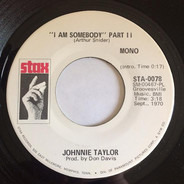 Johnnie Taylor - I Am Somebody (Part II)