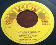 Johnny Cash & The Tennessee Two - Luther's Boogie / Thanks A Lot