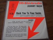 Johnny Nash - Rock You To Your Socks