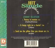 Johnny Tillotson - Poetry In Motion - It Keeps Right On A Hurtin' - Send Me The Pillow That You Dream On