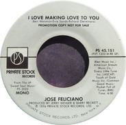 José Feliciano - I Love Making Love To You