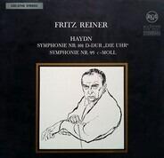 Joseph Haydn/  Fritz Reiner und sein Symphonie-Orchester - Symphonie Nr. 101 D-Dur 'Die Uhr' / Symphonie Nr. 95 C-Moll
