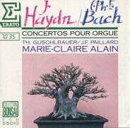 Haydn / C. Ph. E. Bach - Concertos Pour Orgue