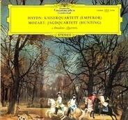 Haydn, Mozart - Amadeus-Quartett - Kaiserquartett (Emperor) / Jagdquartett (Hunting)