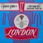 Joyce Sims - All And All (Mantronik Mega Mix)