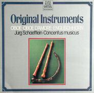 Jürg Schaeftlein , Nikolaus Harnoncourt , Concentus Musicus Wien - Original Instruments: Oboe - Oboe D'Amore - Englischhorn