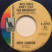 Julie London - Nice Girls Don't Stay for Breakfast