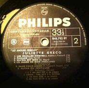 Juliette Gréco - Les Amours Perdues