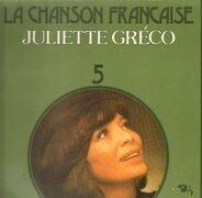 Juliette Greco - La Chanson Francaise 5