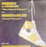 Jurassic 5 Feat. Chali 2NA b/w Evidence & Mr. Eon - The Breadwinner / E=MC² Remix