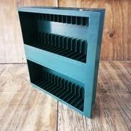 Kassetten-Schublade für LP-Box - in grün, für 30 Stück