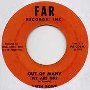 Keith Rowe - Out Of Many (We Are One)