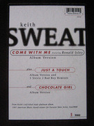 Keith Sweat - Come With Me / Just A Touch / Chocolate Girl
