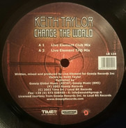 Keith Taylor - Change The World