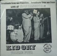 Kid Ory And His Creole Jazz Band - Live At Club Hangover Volume Four