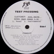 Kool Keith - test press