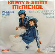 Kristy & Jimmy McNichol - Page By Page / Girl You Really Got Me Goin'