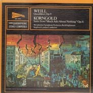 Kurt Weill - Quodlibet, Op.9 / Suite From 'Much Ado About Nothing' Op. 11