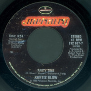 Kurtis Blow - Party Time / Party Time (Instrumental)