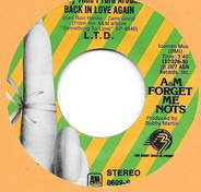 L.T.D. - (Every Time I Turn Around) Back In Love Again / Never Get Enough Of Your Love