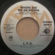 L.T.D. - Where Did We Go Wrong