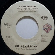 Larry Graham - One In A Million You / When We Get Married