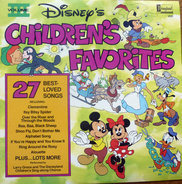 Larry Groce And The Disneyland Children's Sing-Along Chorus - Disney's Children's Favorites Volume III