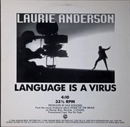 Laurie Anderson - Language Is A Virus