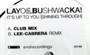 Layo & Bushwacka! - It's Up To You (Shining Through)