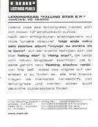 Lemongrass - Falling Star E.P.