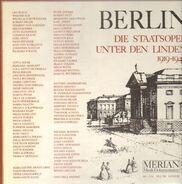 Karajan / Klemperer / Furtzwängler a.o. - Berlin - Die Staatsoper Unter den Linden 1919-1945