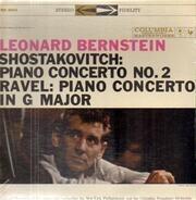 Leonard Bernstein - Piano Concerto No. 2, Op. 101 / Piano Concerto In G Major