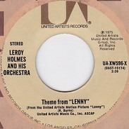 LeRoy Holmes Orchestra - Theme From 'Lenny'/Women In Love